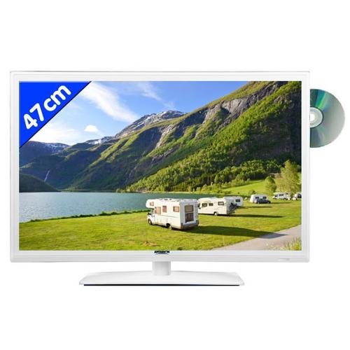 tv hd led dvd 47cm antarion blanche. Black Bedroom Furniture Sets. Home Design Ideas