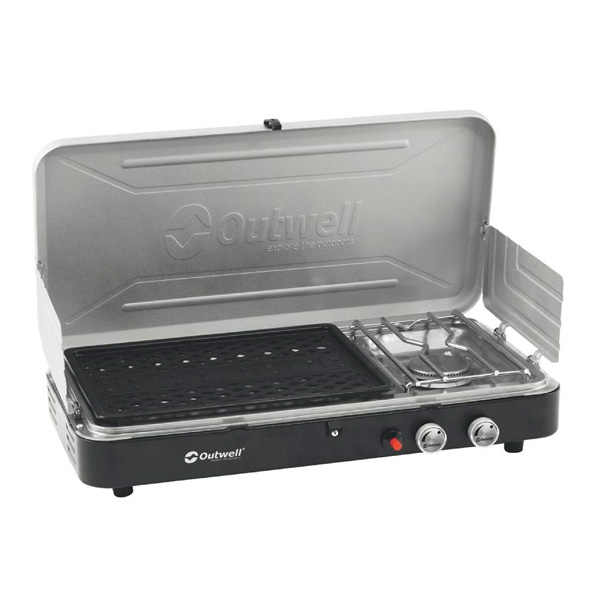 OUTWELL CHEF COOKER  2 feux avec GRILL