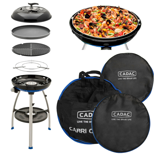 barbecue grill cadac carri chef 2 bbq chef pan combo pour camping car. Black Bedroom Furniture Sets. Home Design Ideas