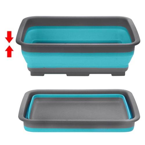Rangement cuisine panier pliable r tractable multiusage camping car - Astuce rangement camping car ...