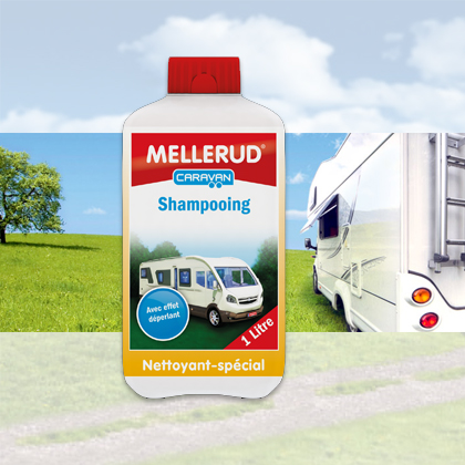 shampooing ext rieur mellerud 1l pour camping car caravane. Black Bedroom Furniture Sets. Home Design Ideas