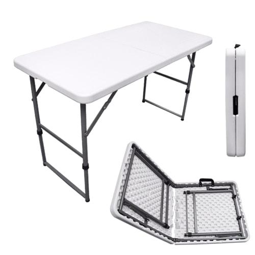 Table de camping easy 122x61cm id ale en camping car - Table pliante pour camping car ...
