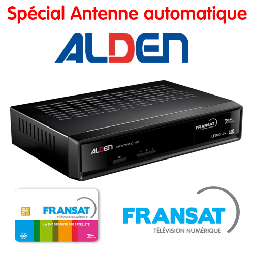 Démodulateur pointeur HD SATMATIC ALDEN FRANSAT