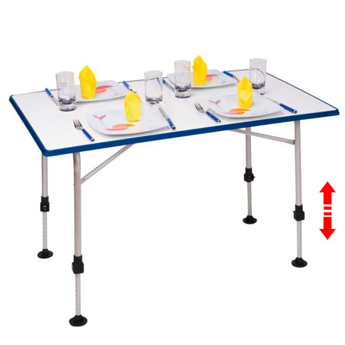 Table de camping UWE 115x69cm