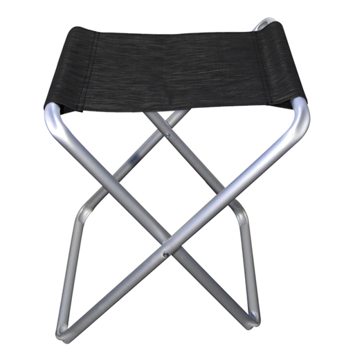 tabouret pliant de camping midland noir camping car caravane. Black Bedroom Furniture Sets. Home Design Ideas