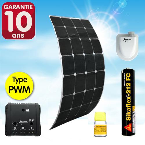 Kit complet panneau solaire SOUPLE 120W HP