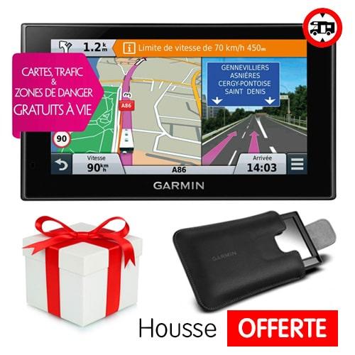GPS Garmin Camper 660 LMT-D + Housse Offerte