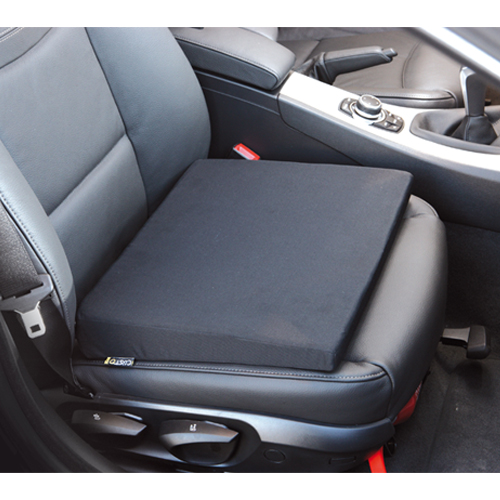 Coussin rehausseur customagic ultra confortable camping for Siege rehausseur voiture