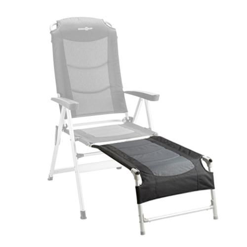 repose jambes noir pour fauteuil kerry slim camping car caravane. Black Bedroom Furniture Sets. Home Design Ideas