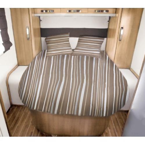 lit tout fait 140x190 riva via mondo pour camping car caravane bateau. Black Bedroom Furniture Sets. Home Design Ideas