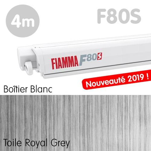 Nouveau Store FIAMMA F80S 4m Blanc Fourgon