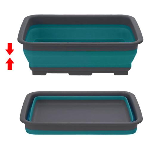 rangement cuisine bassine silicone pliable multiusage. Black Bedroom Furniture Sets. Home Design Ideas