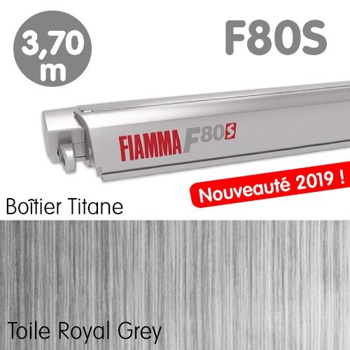 Nouveau Store FIAMMA F80S 3m70 Titane Fourgon