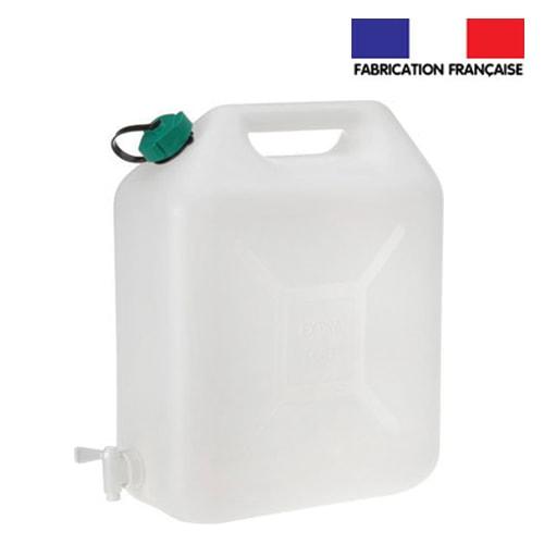 jerrican alimentaire 20l pour eau propre avec robinet camping car. Black Bedroom Furniture Sets. Home Design Ideas