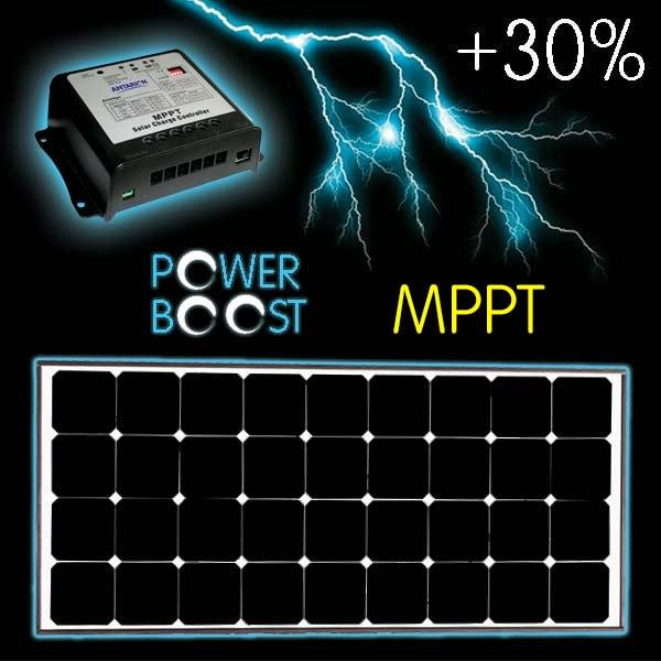 Kit Panneau Solaire spécial Black Boost 170W MPPT+
