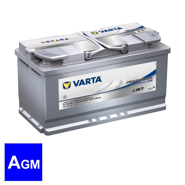 Batterie VARTA Professional Dual Purpose AGM 95 AH