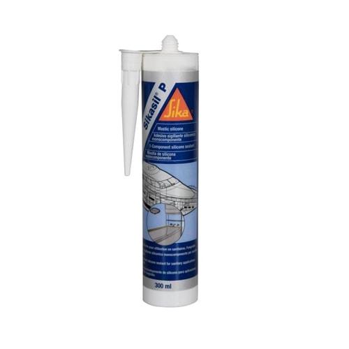 Mastic silicone tanche sikasil p marine sanitaires - Joint etanche salle de bain ...