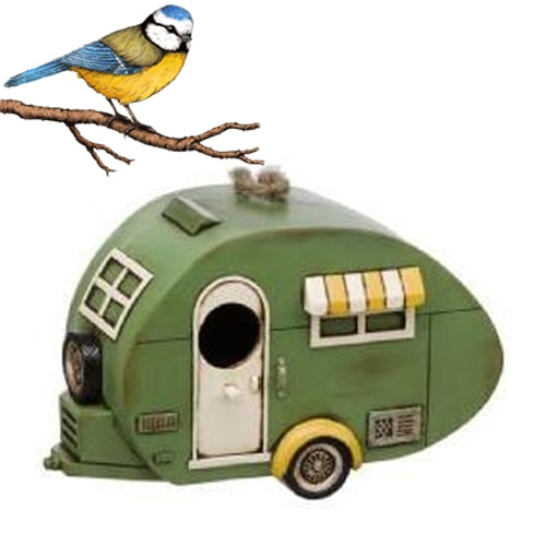 Cabane à oiseaux Caravan 1930 s