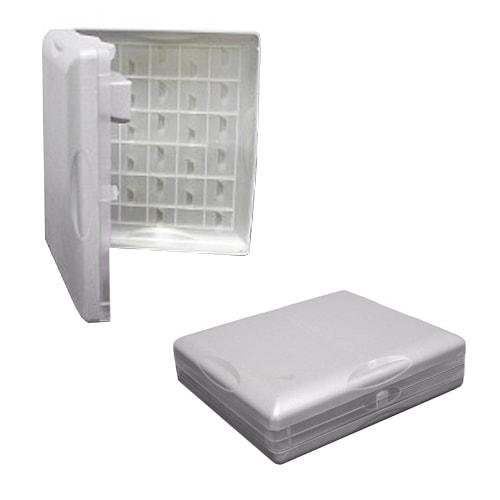 Égouttoir à vaisselle repliable type valise 29/50 x 25cm - Camping-car