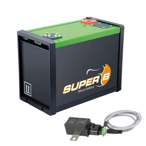 Batterie au Lithium SUPER B 12V 50Ah