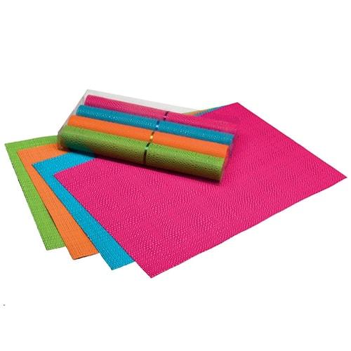 4 Sets de table multicolore 30 x 45 cm