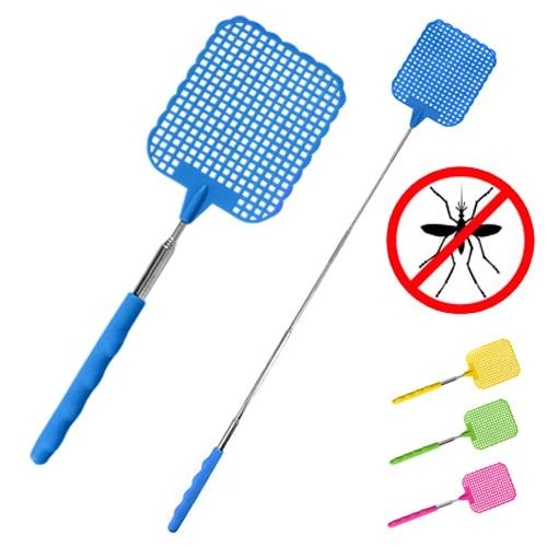 tapette mouche t lescopique 25 56 cm tue insectes et moustiques. Black Bedroom Furniture Sets. Home Design Ideas