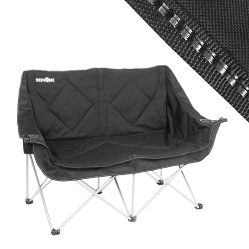 fauteuil de camping pliable noir camping car caravane. Black Bedroom Furniture Sets. Home Design Ideas