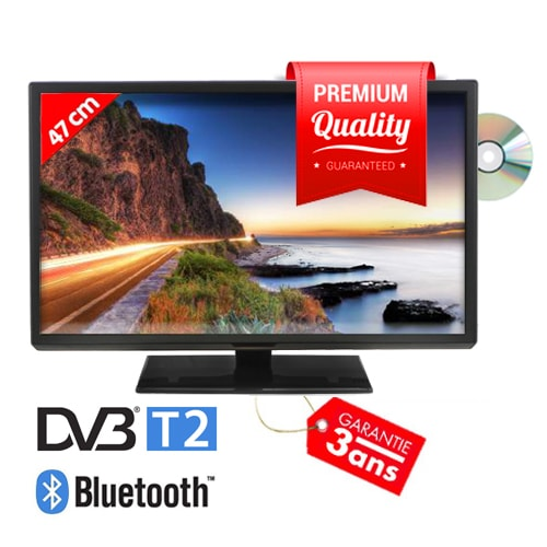 TV VISION+ HD DVD 47cm Reconditionnée