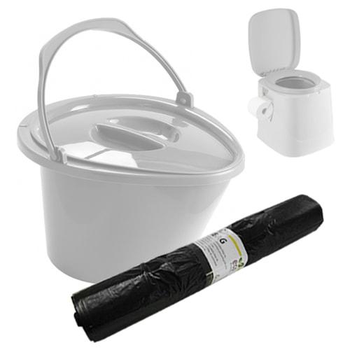 Sacs pour WC portable OPTILOO par 25