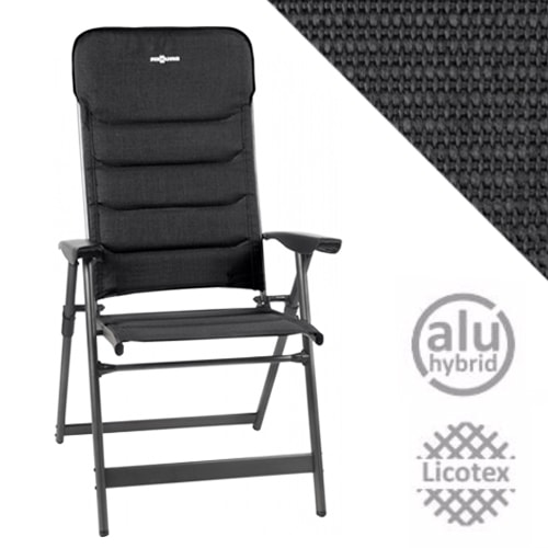 Fauteuil Camping Brunner Kerry Phantom Confort Extra Plat 7 Positions