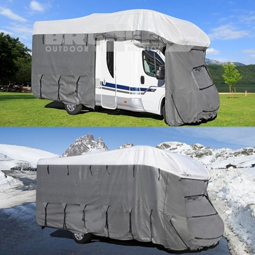 housse de camping car brunner 4 saisons 7m50 avec protection uv. Black Bedroom Furniture Sets. Home Design Ideas