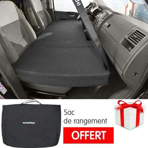 Lit de cabine CampSleep Small pour Fourgon Minivan + Sac OFFERT