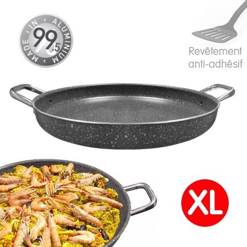 Poêle paella grill 37cm antiadhésive