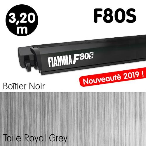 Nouveau Store FIAMMA F80S 3m20 Noir Fourgon