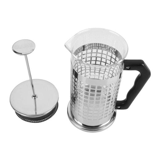 cafeti re piston coffee press 1l bialetti 8 tasses camping car. Black Bedroom Furniture Sets. Home Design Ideas