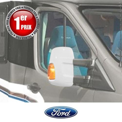 Coques de rétros HTD Blanches Ford Transit 6 après 2014