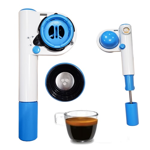 machine expresso handpresso pump pop pompe camping car voiture. Black Bedroom Furniture Sets. Home Design Ideas