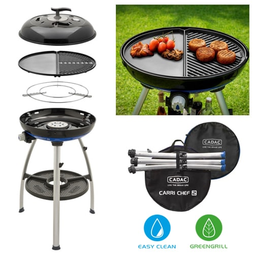 Barbecue Cadac Carri Chef 2 Plancha Combo