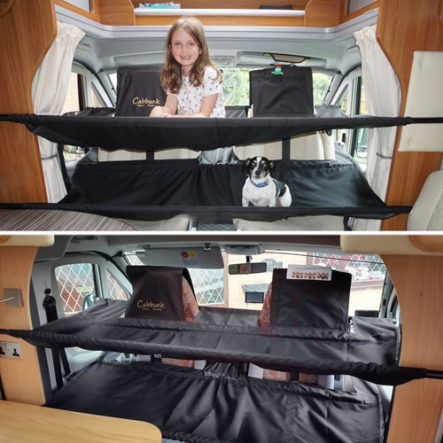 lits de cabine superpos s cabbunk twin 2 enfants fourgon camping car. Black Bedroom Furniture Sets. Home Design Ideas