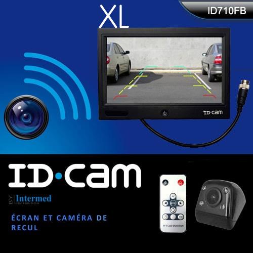 Caméra de recul IDCAM 710FB + écran 7 pouces