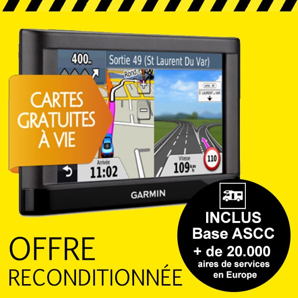 gps garmin nuvi 42 lm reconditionn europe pour camping car. Black Bedroom Furniture Sets. Home Design Ideas