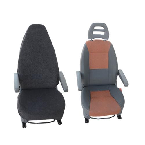housse de si ge noire t9 customagic couvre si ge camping car. Black Bedroom Furniture Sets. Home Design Ideas