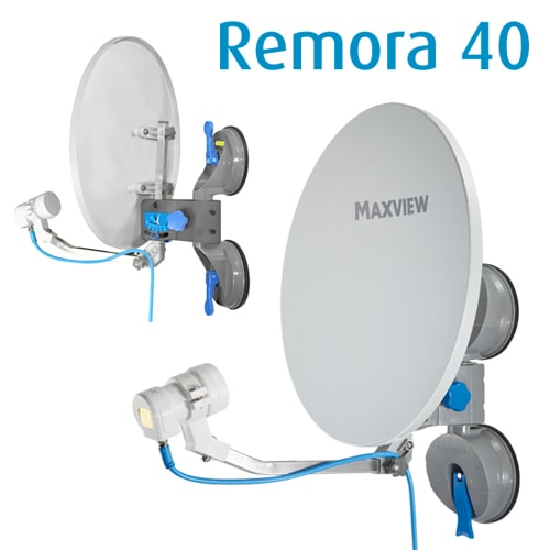 antenne satellite portable remora 40 maxview ventouses. Black Bedroom Furniture Sets. Home Design Ideas