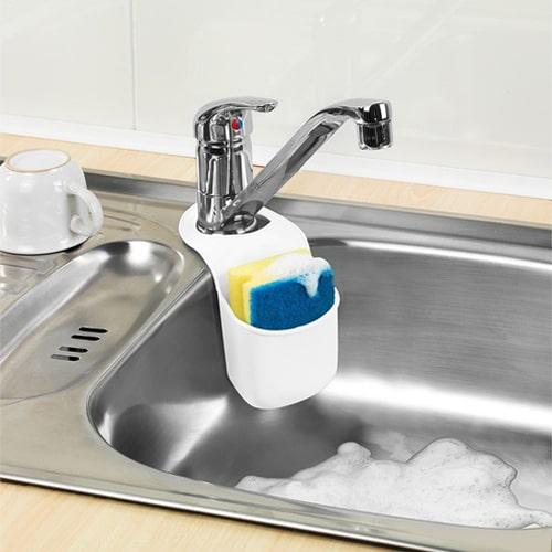 Rangement éponge savon silicone