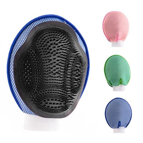 accessoires pour chiens chats gant de brossage pour animaux. Black Bedroom Furniture Sets. Home Design Ideas