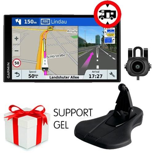 GPS Garmin Camper 770 LMT-D + Caméra BC30 + Support GEL OFFERT