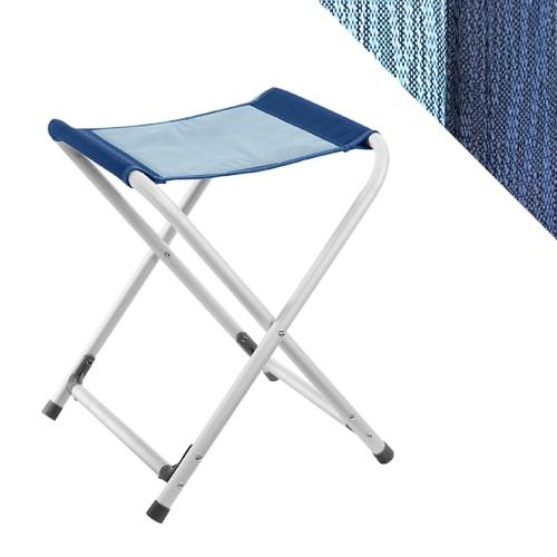 Camping Brunner Alu Trépied Tabouret Pliante Chaise de camping Big Fjord Bleu