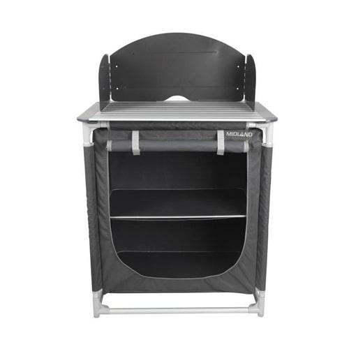 meuble de cuisine midland sirius gris pour auvent de. Black Bedroom Furniture Sets. Home Design Ideas