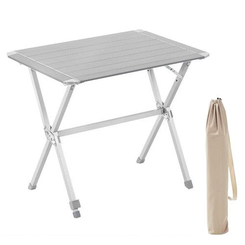 table de camping alu 80 avec sac camping car. Black Bedroom Furniture Sets. Home Design Ideas