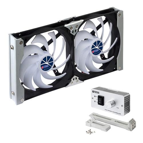 Ventilateur de frigo 12V TITAN 14 cm